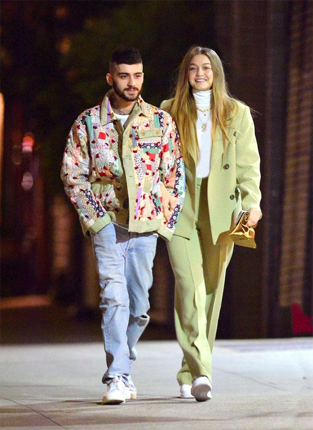 Gigi Hadid & Zayn Malik