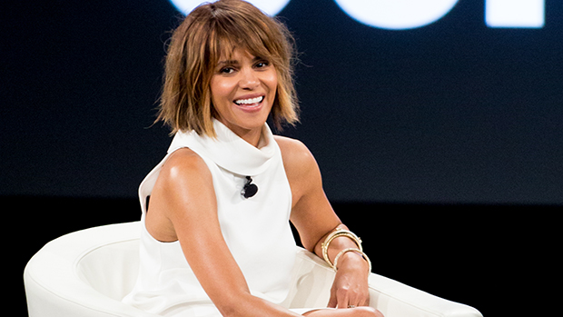 ​Halle Berry, 54, Shakes Her Hips In Sexy White Dress — Watch
