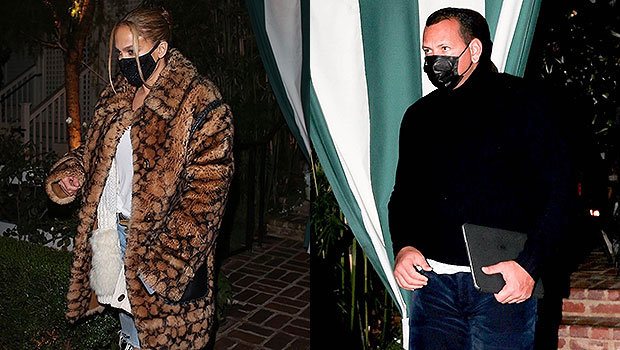 Jennifer Lopez Looks Stylin' As She Rocks Timberlands With 0 Coach Coat For Date Night With A-Rod