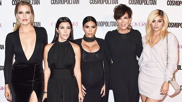 Kardashians Celebrate Thanksgiving 2020: Khloe & Kylie Are Twinning At Dinner & More — Pics & Video