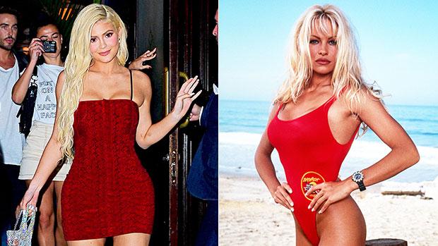 Kylie Jenner, Pamela Anderson