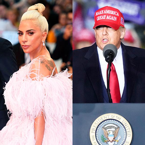 Lady Gaga Donald Trump
