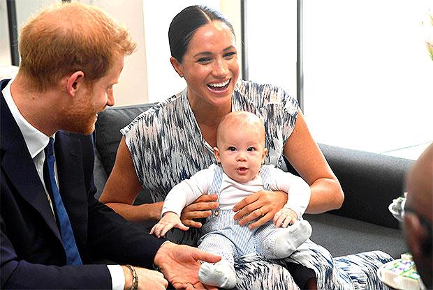 Meghan Markle & Prince Harry & son Archie