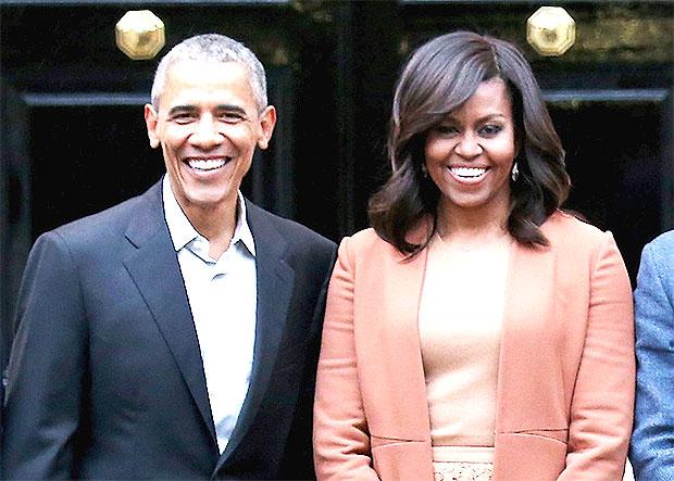 Barack Obama Michelle Obama
