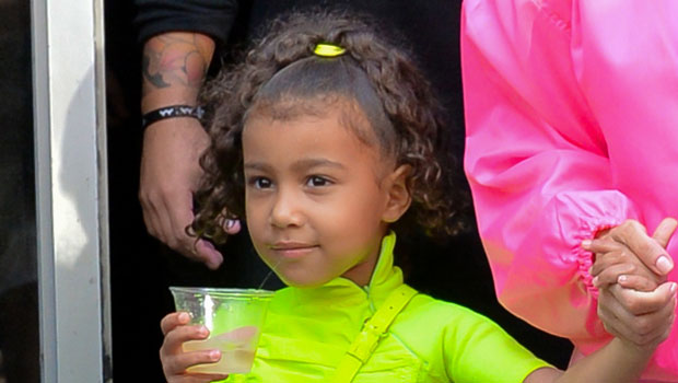 North West, 7, Is Absolutely Adorable Modeling Her SKIMS Cozy Collection At Photoshoot — Watch