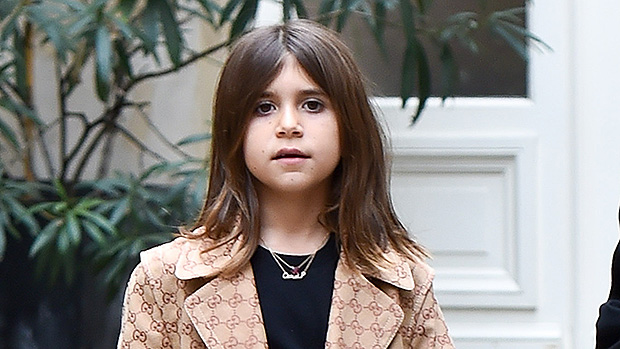 Penelope Disick, 7, Channels Mom Kourtney Kardashian With High Heels For At-Home Fashion Show – Watch
