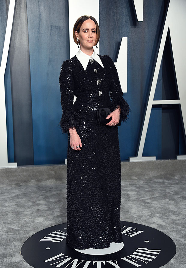 Sarah Paulson Reveals Her Realistic Transformation Into Linda Tripp For 'American Crime Story' 3