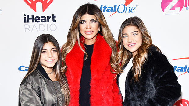 Teresa Giudice Sends Ex Joe Love After He Reunites With Their Daughters Gia, 19, & Milania, 14