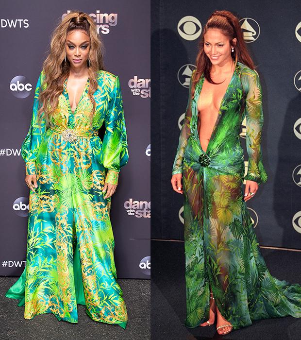 Tyra Banks Jennifer Lopez