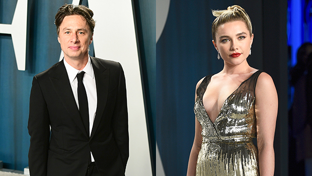 Zach Braff, 45, Gushes Over 'Intelligent & Articulate' GF Florence Pugh, 24, For Defending Their 21-Year Age Gap