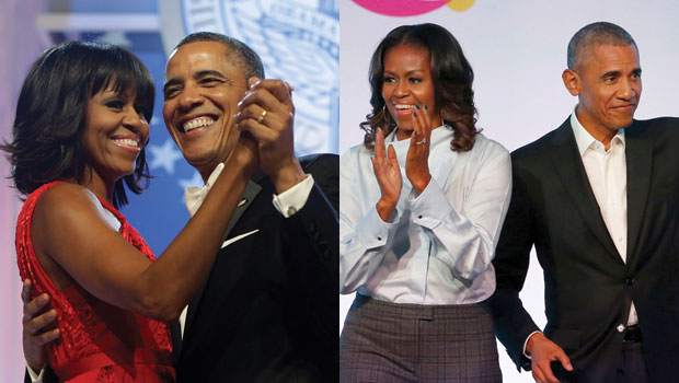 Barack & Michelle Obama Then & Now: See Evolution From 2008 Presidential Campaign To Today