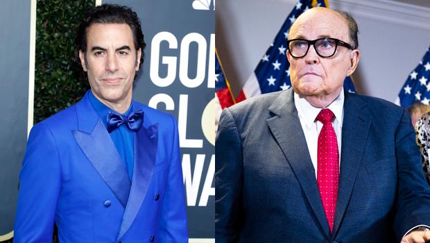 Sacha Baron Cohen, Rudy Giuliani