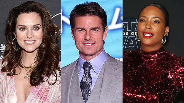 Hilarie Burton, Tom Cruise, Aisha Tyler
