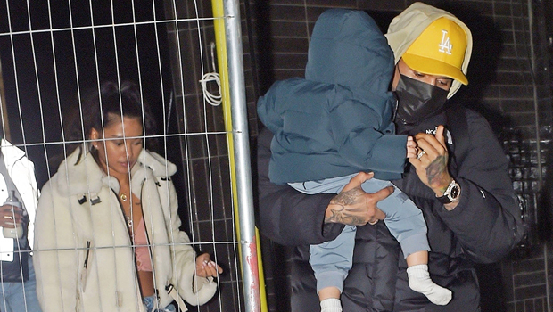 Chris Brown Is 'Missing' Ammika Harris & Their Son Aeko, 1, 'Already' After Family Reunion