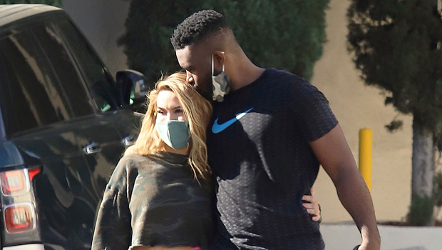 Chrishell Stause Seemingly Dating 'DWTS' Pro Keo Motsepe 1 Year After Justin Hartley Split: See PDA Pic