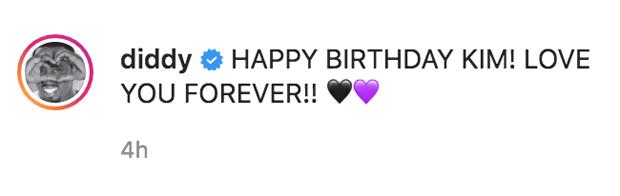 Diddy's Instagram