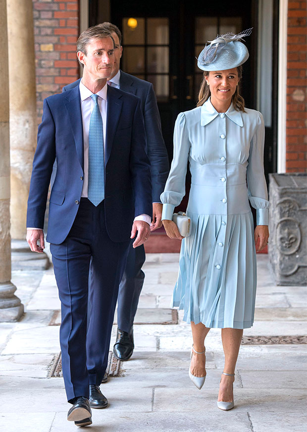 Pippa Middleton & husband James Matthews