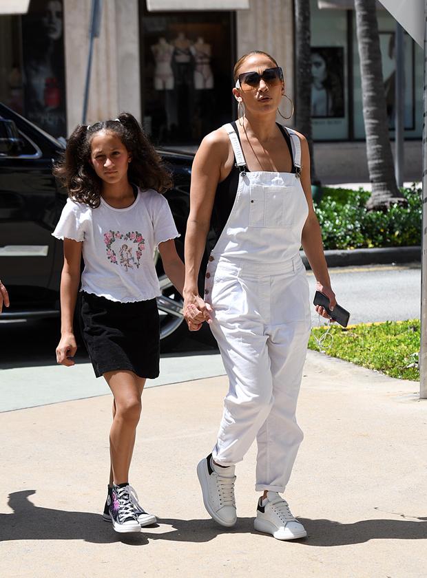 Jennifer Lopez and daughter Emme