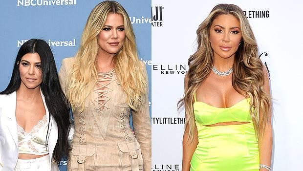 Kardashians 'Crying' & 'Screaming' Over Benny Drama's Hilarious Impression Of Ex-BFF Larsa Pippen