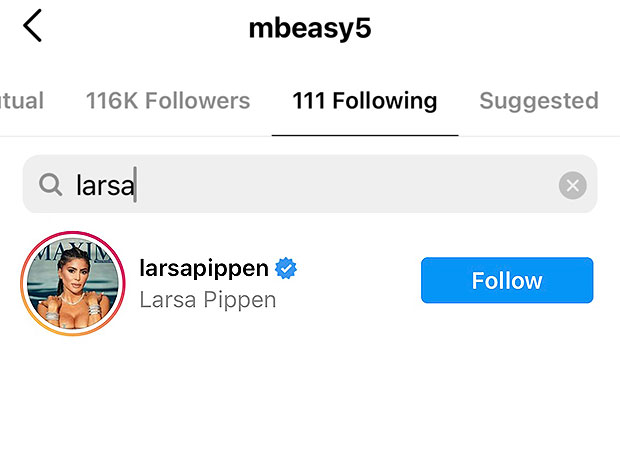 Larsa Pippen, Malik Beasley