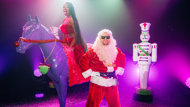 Megan Thee Stallion Gives Santa A 'Savage' Reboot & The Video's Full Of Naughty Sins — Watch