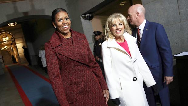 Michelle Obama, Jill Biden