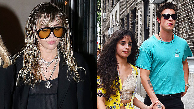 Miley Cyrus, Shawn Mendes, Camila Cabello