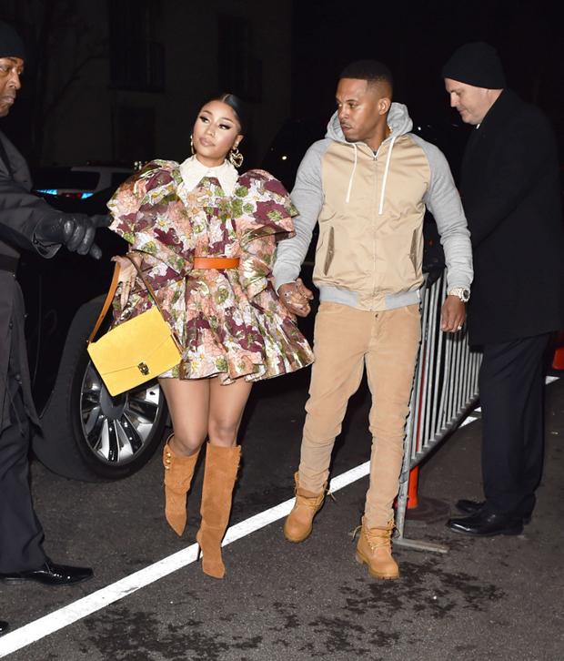 Nicki Minaj & Kenneth Petty