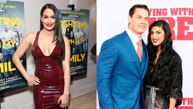 John Cena, Nikki Bella, Shay Shariatzadeh