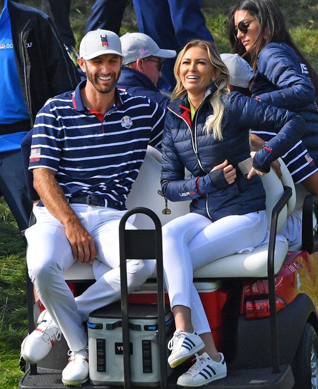 Dustin Johnson, Paulina Gretzky