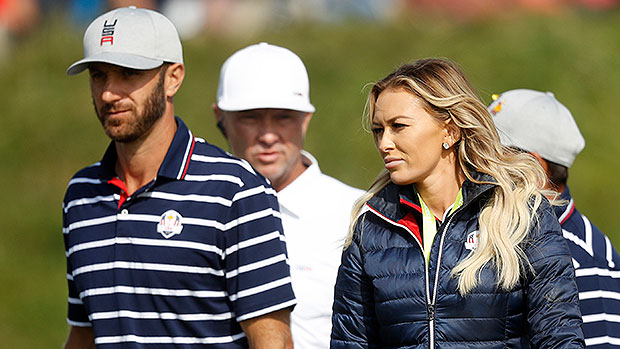 Paulina Gretzy Channels Fiancé Dustin Johnson As She Plays A Game Of Golf In Short Daisy Dukes — Watch