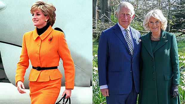 Princess Diana, Prince Charles and Camilla