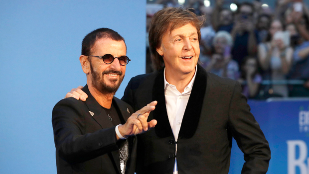 Ringo Starr Paul Mccartney S New Song Here S To The Nights Listen Here Hollywood Life