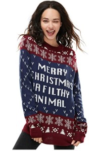 Home Alone movie ugly christmas sweater