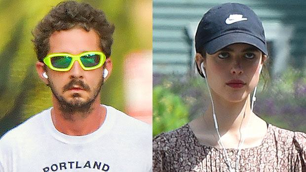 Shia LaBeouf Kisses GF Margaret Qualley After Ex FKA Twigs Files Lawsuit Accusing Him Of Abuse