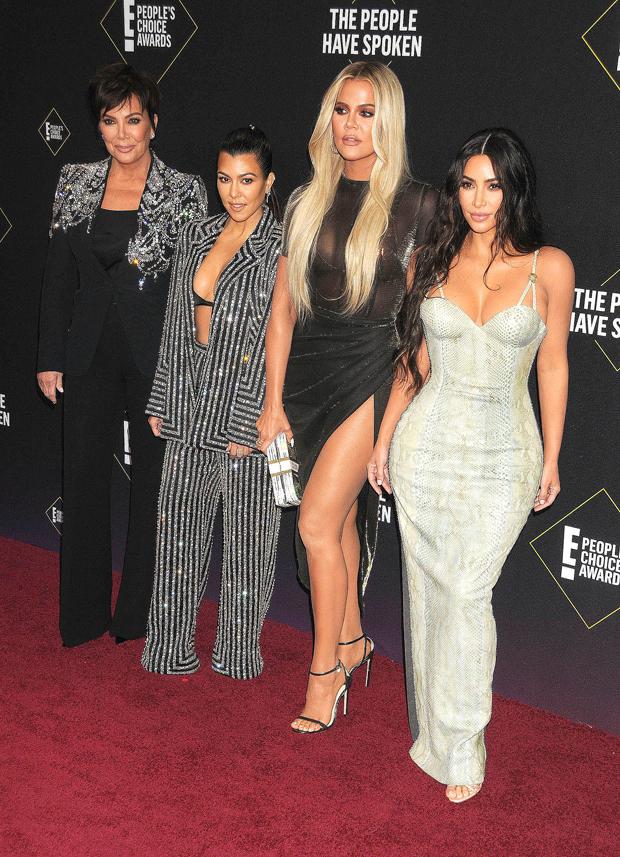 kardashians peoples choice awards