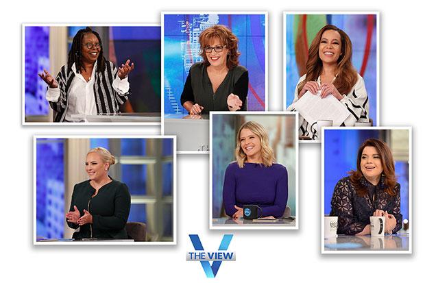 Whoopi Goldberg, Joy Behar, Sunny Hostin, Meghan Mccain, Sara Haines, Ana Navarro