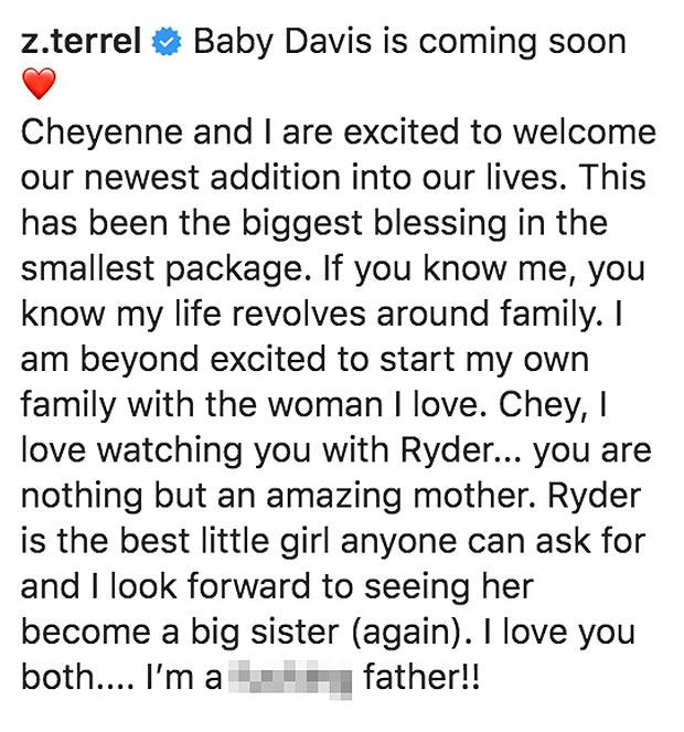 Zach Davis, Cheyenne Floyd