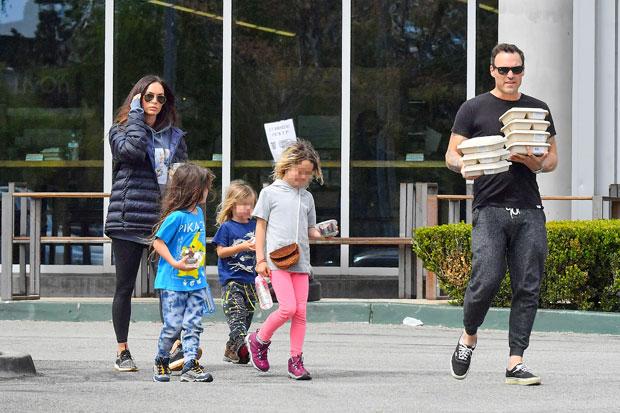 Brian Austin Green & Megan Fox's Family