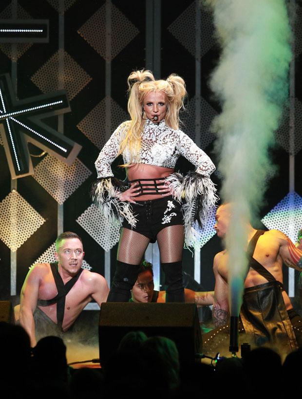 Britney Spears Dancing Video