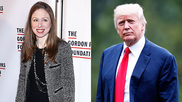 Chelsea Clinton Turns Heads As She Supports Giving Trump & Staff Vaccine Before Front Line Workers