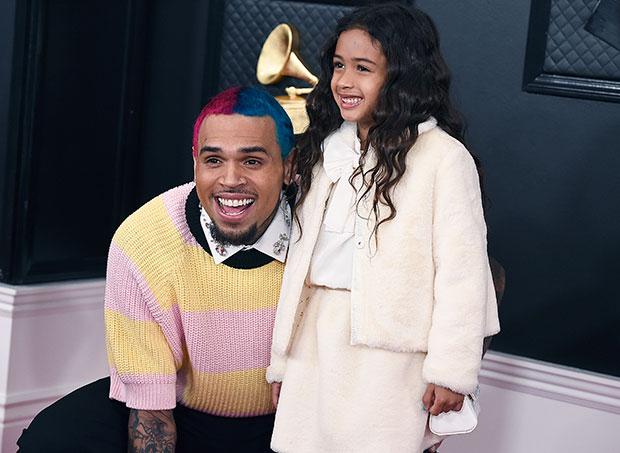 Chris Brown's Daughter Royalty, 6, Is So Grown Up Modeling ...
