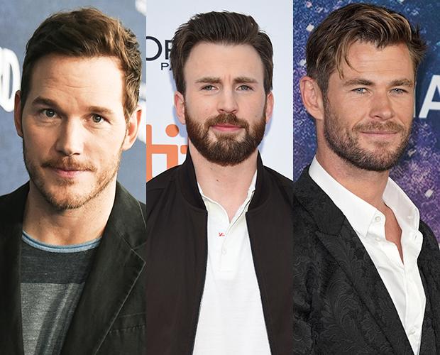 Chris Pratt, Chris Evans, Chris Hemsworth