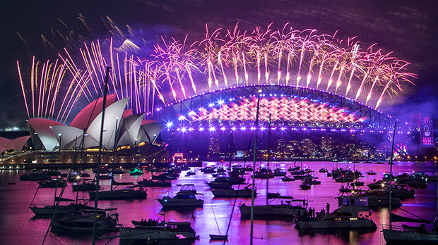 New Year's Eve 2021: See Pics Of Fireworks & More From Celebrations Around The World
