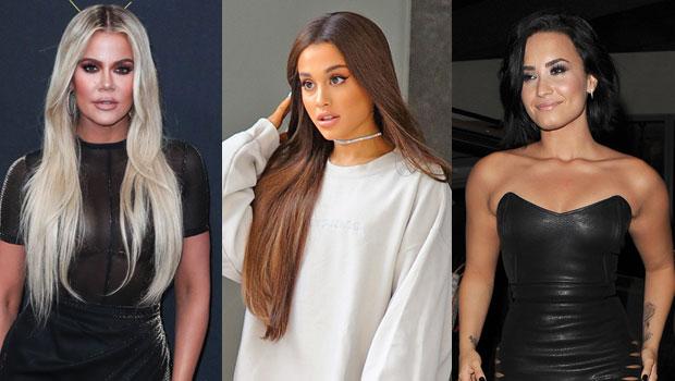 Khloe Kardashian, Ariana Grande, Demi Lovato