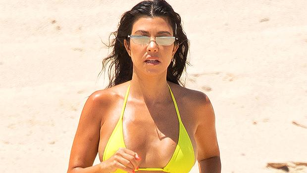 Kourtney Kardashian Mocks Baby Rumors After Sharing Sexy Bikini Pics: 'Get Me Pregnant'