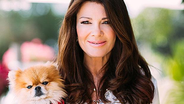 Lisa Vanderpump & her late dog Giggy