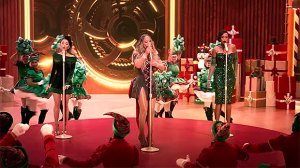 Mariah Carey, Ariana Grande & Jennifer Hudson Serve Up Plenty Of Holiday Cheer In Festive 'Oh Santa' Video