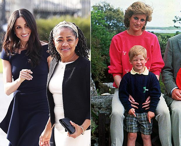 Prince Harry Meghan Markle Princess Diana Doria Ragland