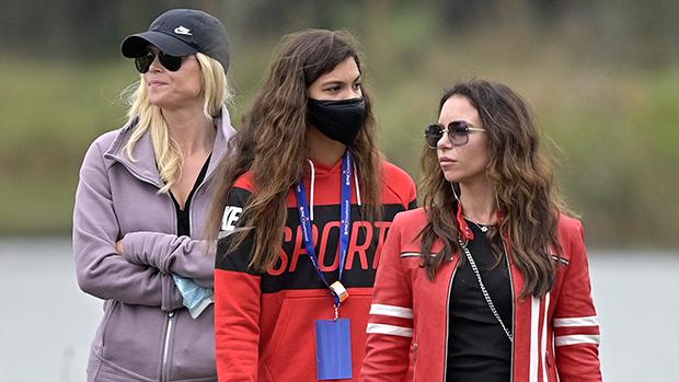 Elin Nordegren & Erica Herman Attend Tiger Woods Golf ...